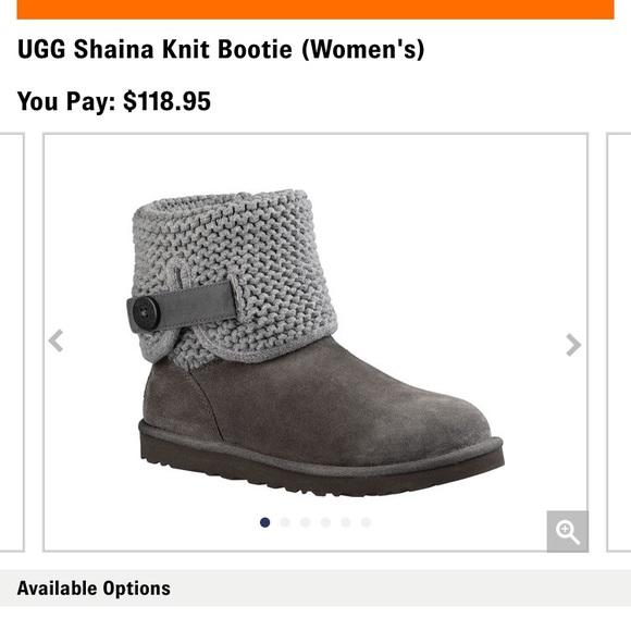 fcf092355f9 UGG Shaina Knit Bootie (Women's) NWT